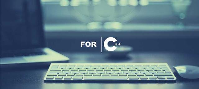 Pengertian dan Contoh Perulangan FOR C++ - belajar C++