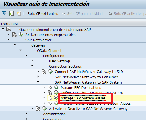 SAP ABAP Central: ODATA services from Queries BEX