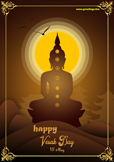 happy vesak day 18 may Buddha Day wishes images