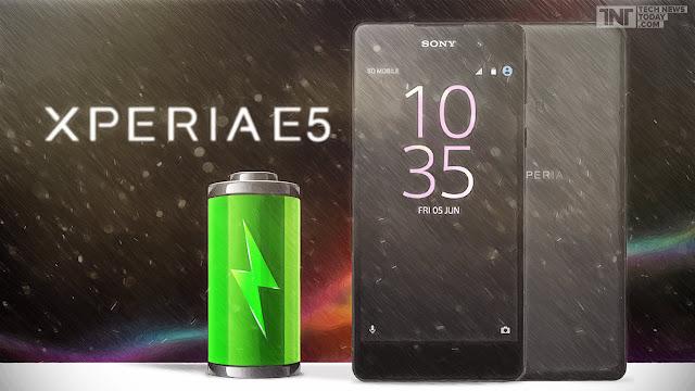 مواصفات هاتف Sony xperia E5