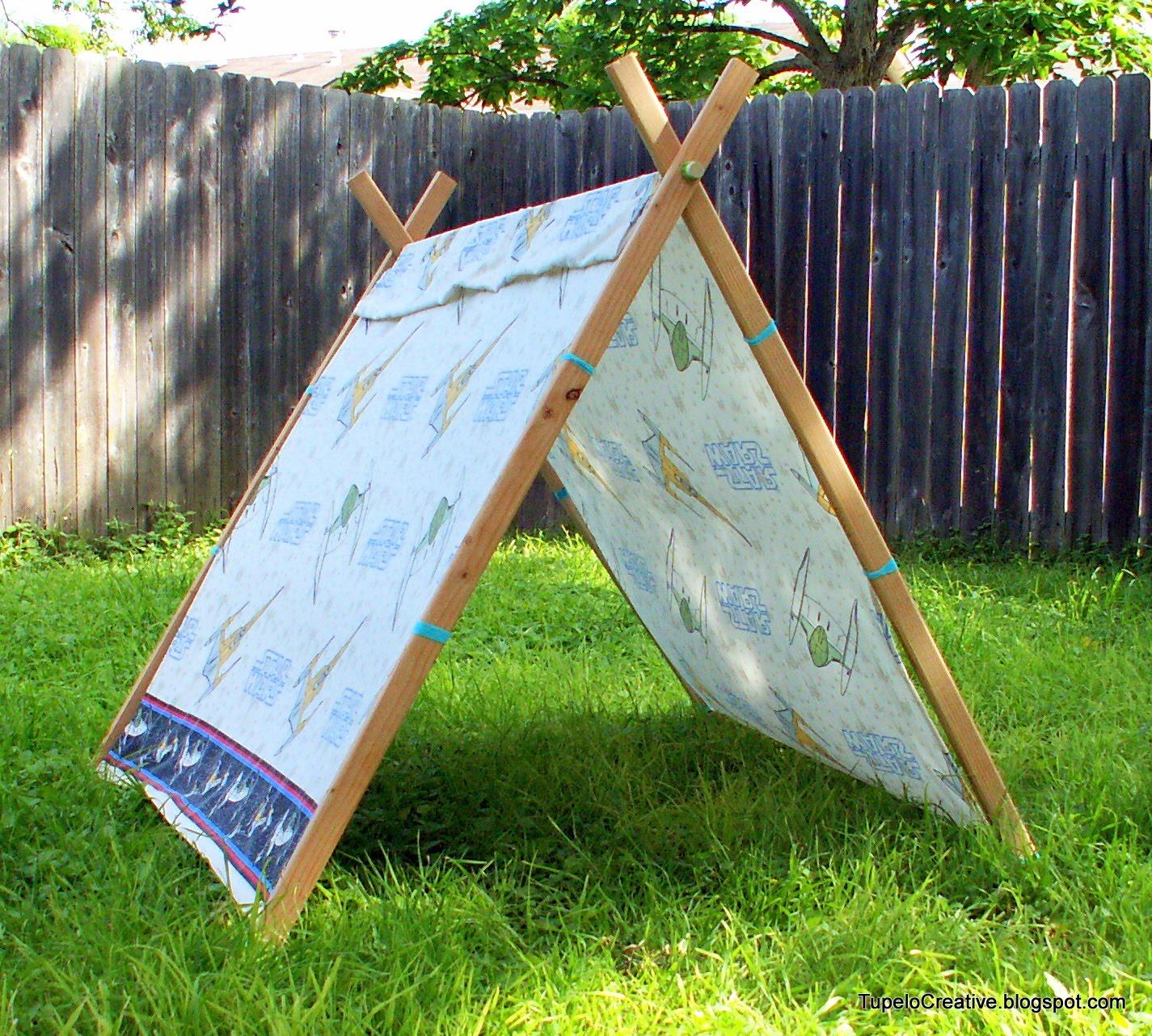 Tupelo Creative: DIY Simple Kid's Tent