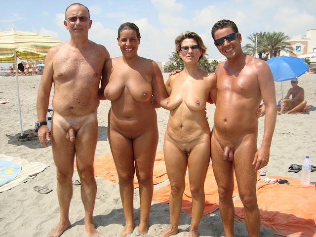 Nudist lifeguard, nude female curlers