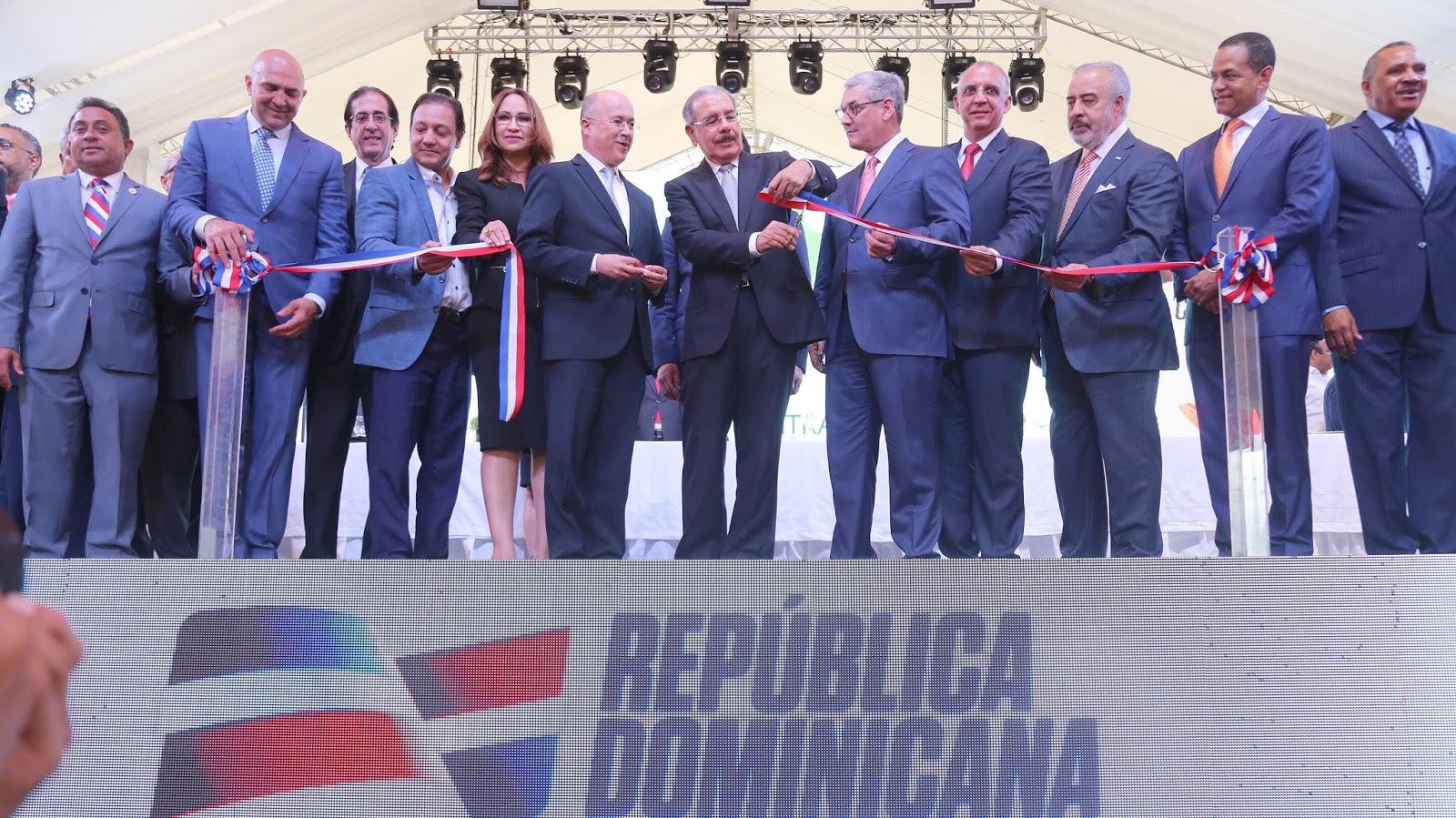 Danilo Medina entrega Parque Central de Santiago, pulmón ecológico y espacio deportivo y recreativo