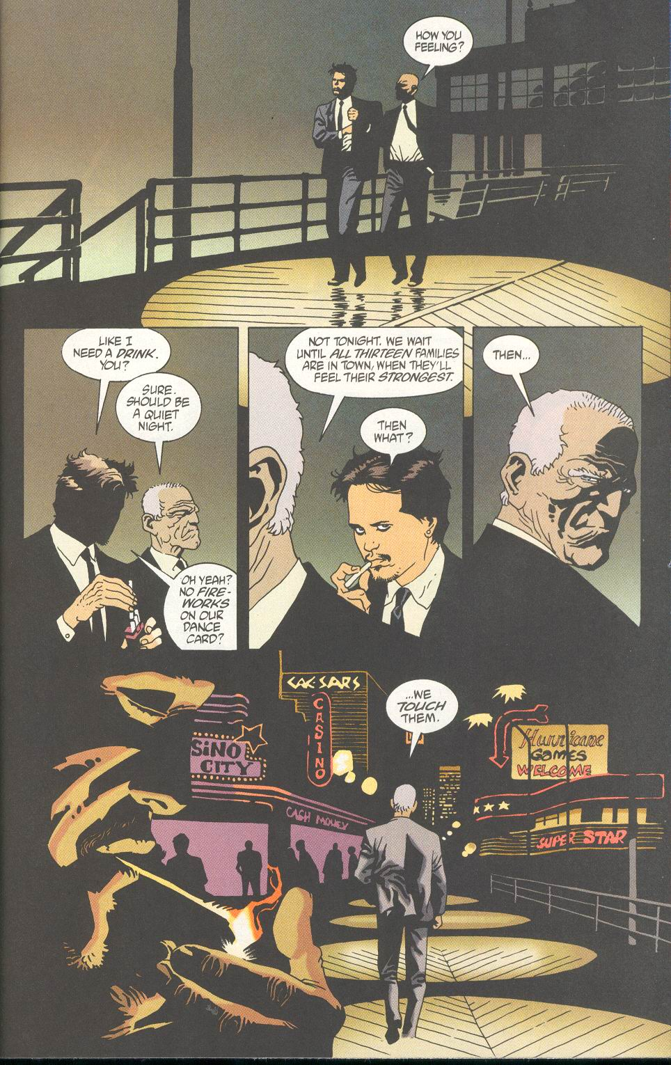 Read online 100 Bullets comic -  Issue #24 - 15