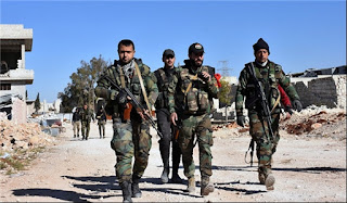 Syrian Army Captures 3,000sq/km of Land in Homs-Raqqa
