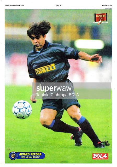ALVARO RECOBA INTER MILAN 1997