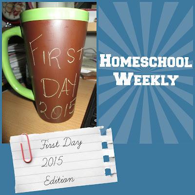 Homeschool Weekly - First Day 2015 Edition on Homeschool Coffee Break @ kympossibleblog.blogspot.com