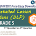 GRADE 5 DLP - Detailed Lesson Plans (UPDATED)