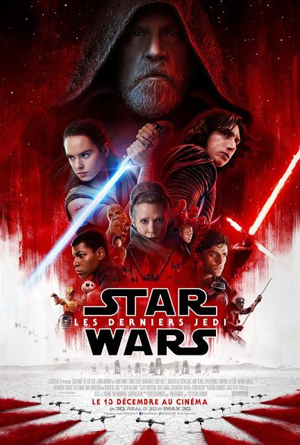 Film Star Wars 8 : Les Derniers Jedi L'Agenda Mensuel - Décembre 2017