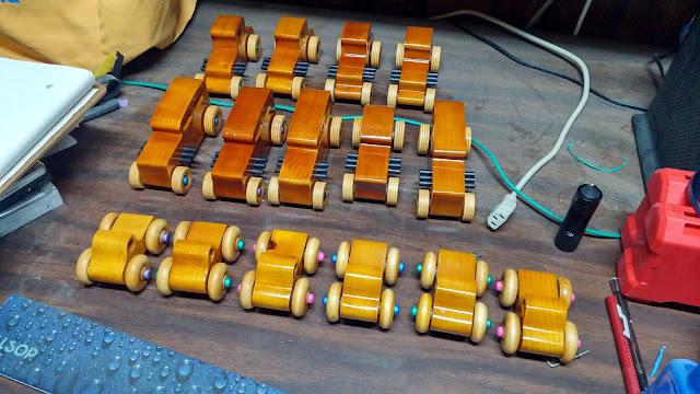 Wooden Toy Cars & Trucks Camera Ready