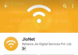Jio Net app