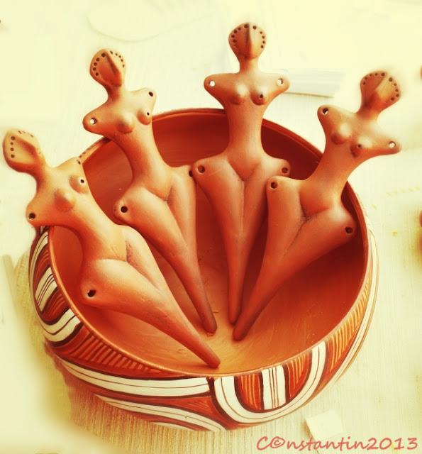 Ceramica de Cucuteni aşa cum o vãd meşterii populari de astãzi