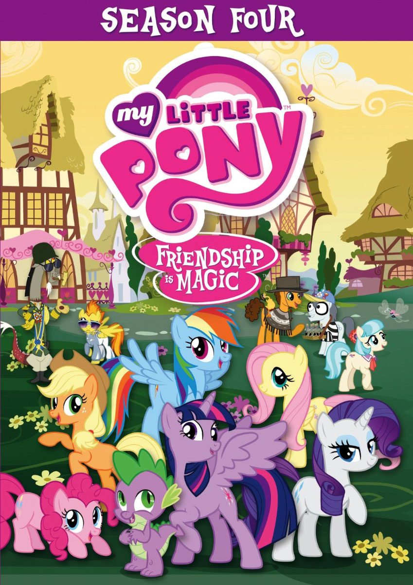 My Little Pony Season 4 DVD