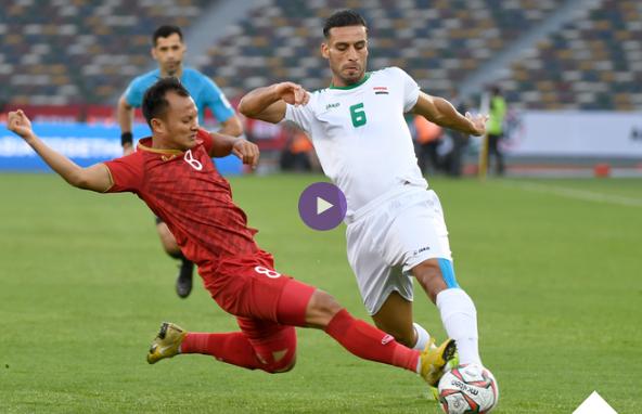 منتخب العراق ينتزع فوزا قاتلا من أنياب  فيتنام بكأس آسيا ،الملخص والاهداف