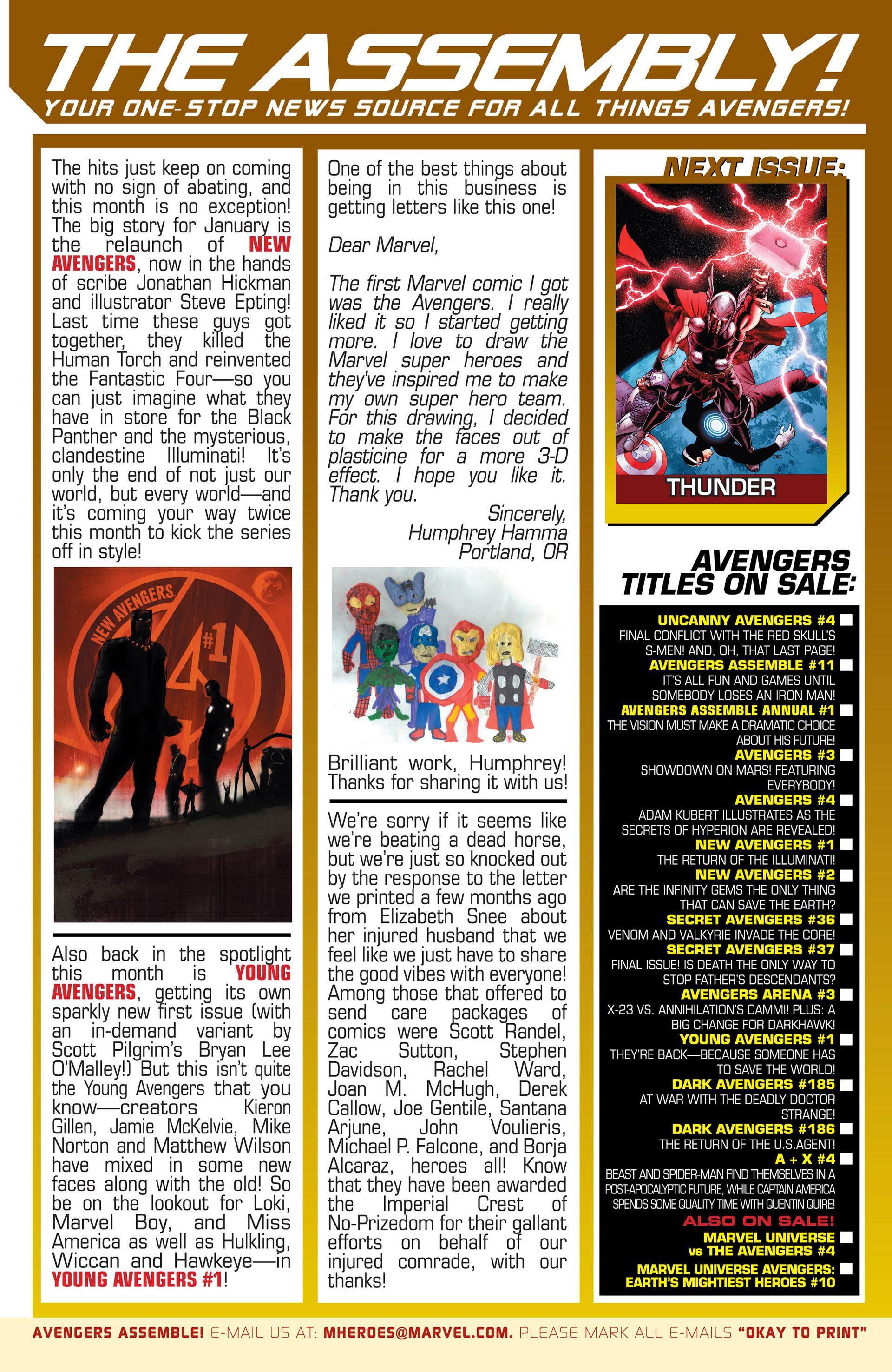 Read online Uncanny Avengers (2012) comic -  Issue #3 - 24