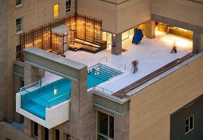 modern rooftop swimming pool design ideas 2019