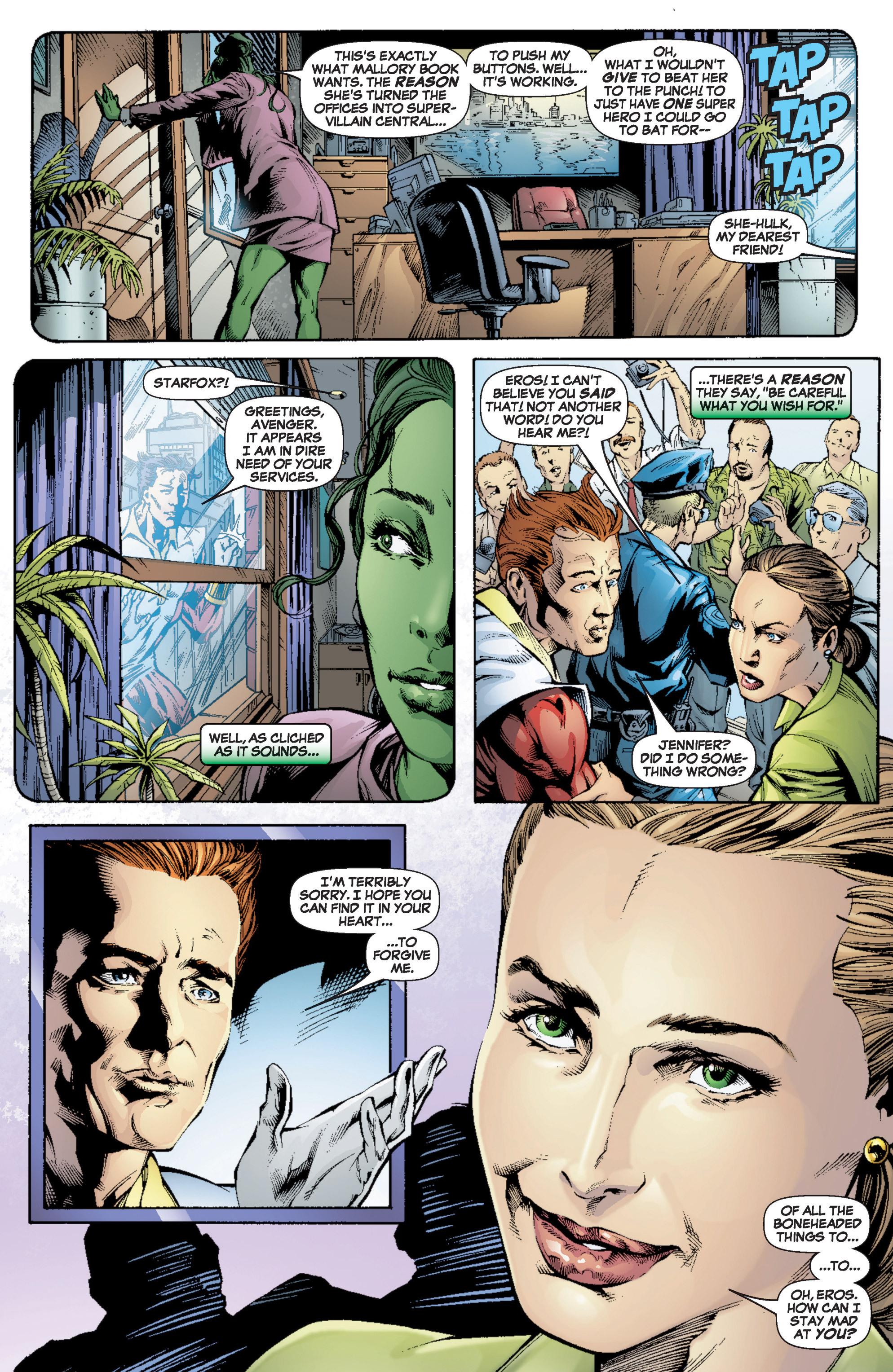 Read online She-Hulk (2005) comic -  Issue #6 - 7