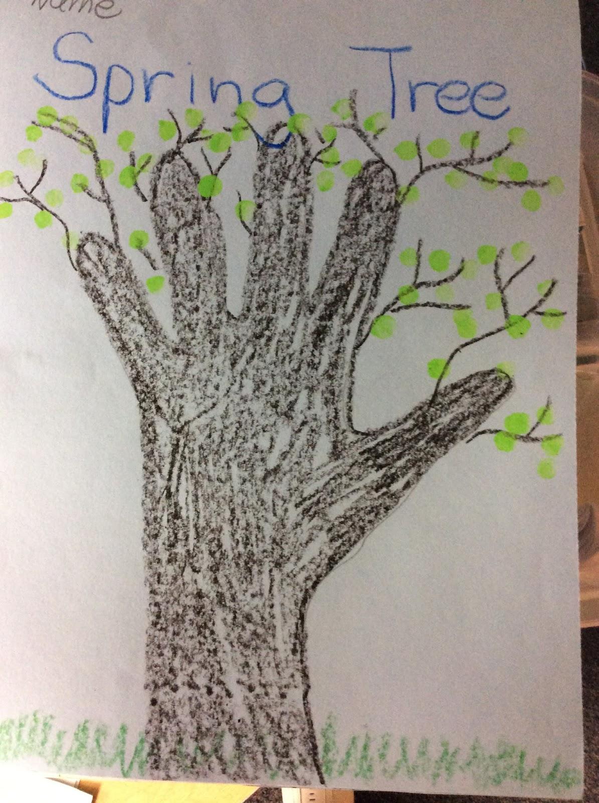 Kindergarten Hand In Hand We Grow Trees And Seasons Go
