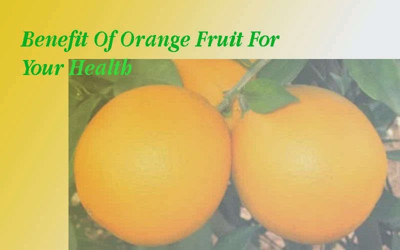 Benefit Of Orange Fruit For Your Health