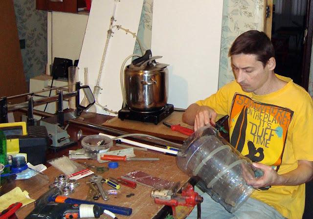 Изготовление самогонного аппарата из скороварки