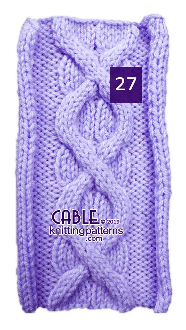Cable Knitting Pattern 27