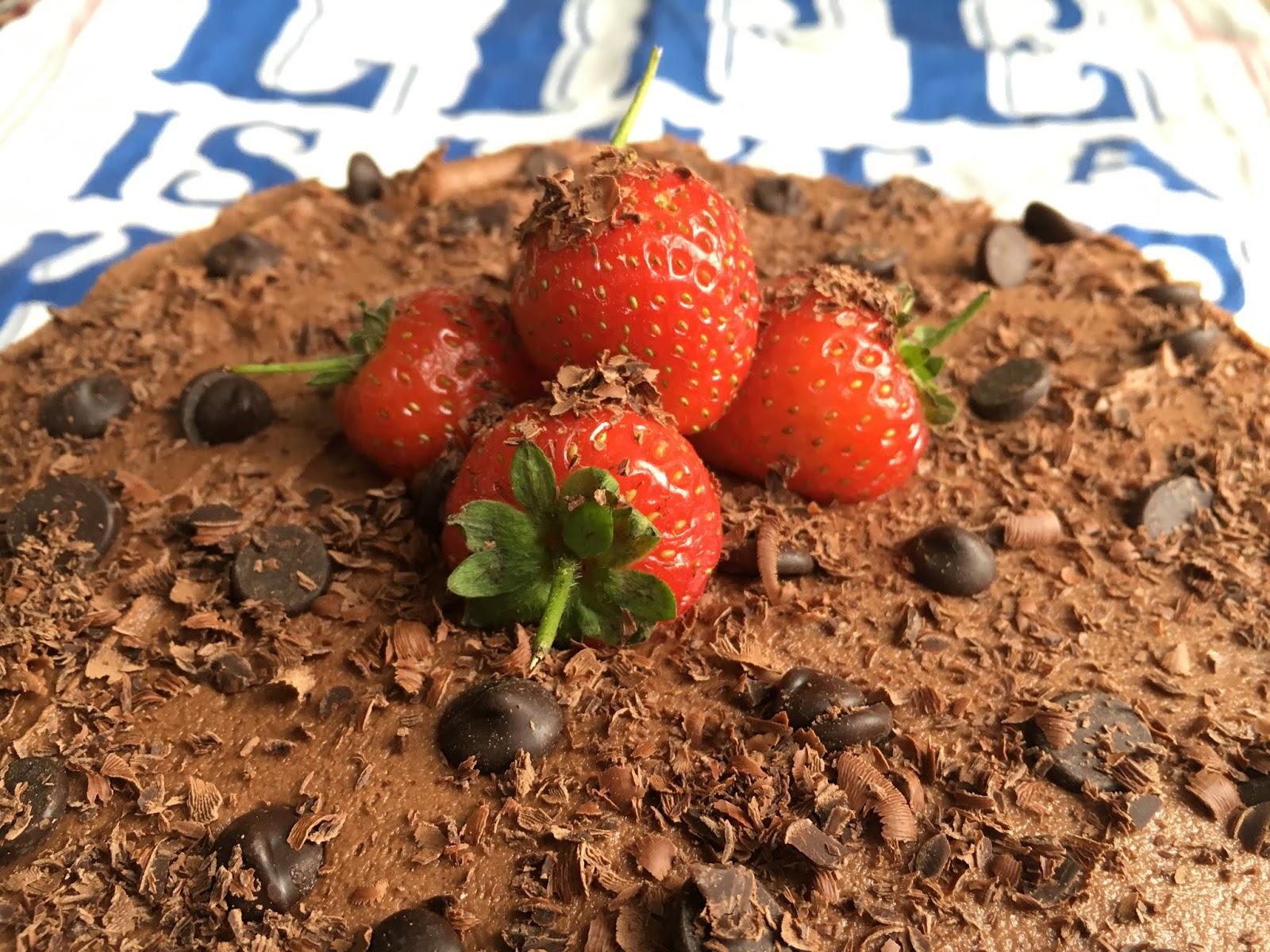 Gluten Free + Vegan Chocolate Cake (Nut Free)