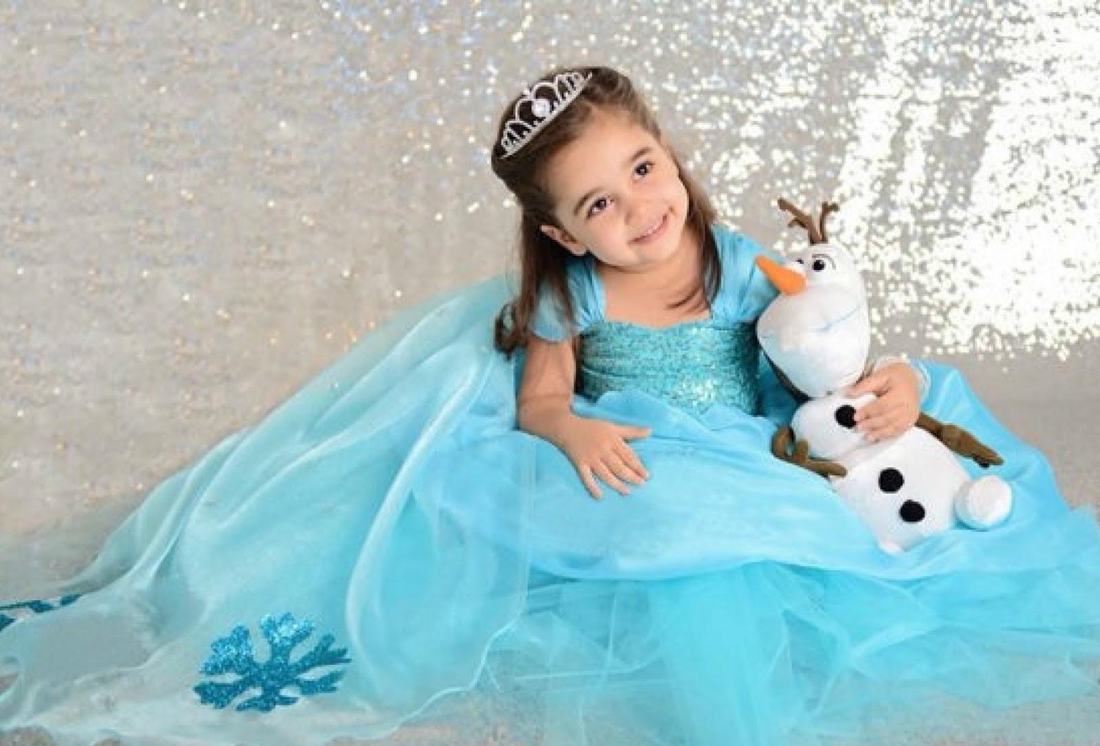 c33a9786d0 Vestido Infantil Frozen
