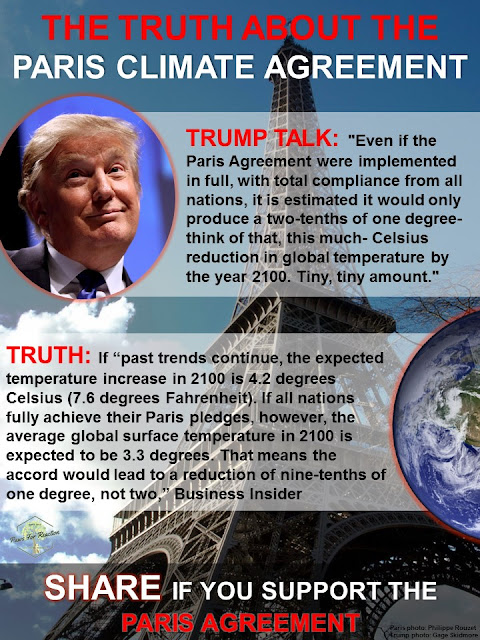 Trump Talk vs Truth: Fact checking Donald Trump's Paris Climate Agreement speech