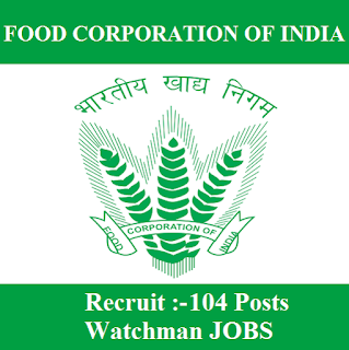 Food Corporation of India, FCI Chhattisgarh, FCI, FCI Chhattisgarh Admit Card, Admit Card, fci chhattisgarh logo