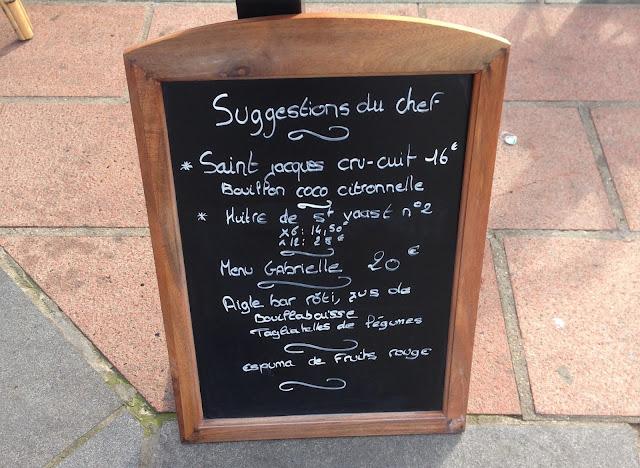 la villa gabrielle restaurant deauville normandie france