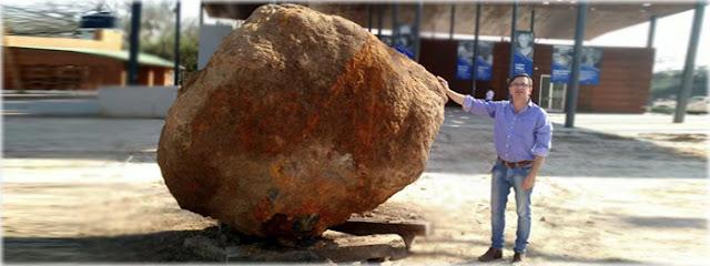 Meteorito de 30 toneladas é descoberto na Argentina - setembro