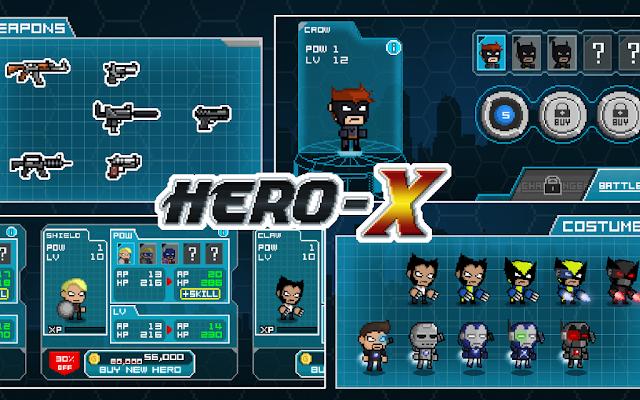 HERO-X v1.1.4 Apk Mod [Money]