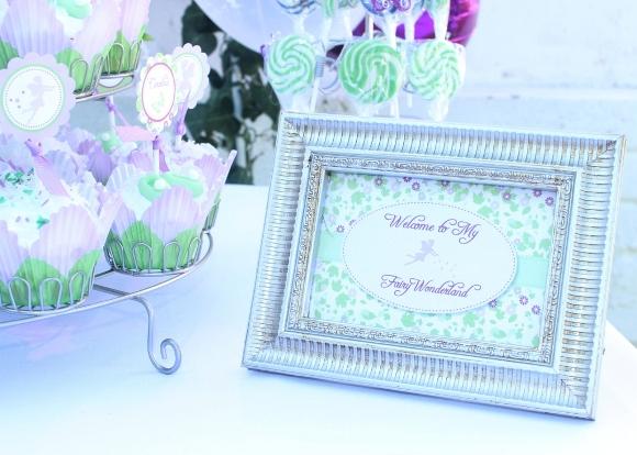 Pixie Fairy Party Ideas | Tinker Bell Inspired Birthday - BirdsParty.com