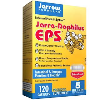 كبسولات داعمة للمعدة ومساعدة للهضم Jarrow Formulas, Jarro-Dophilus EPS, 120 Veggie Caps