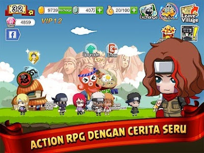 Download Ninja Heroes APK: Game RPG Naruto Terbaik