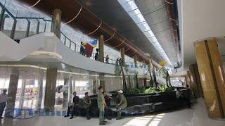 Bandara Samarinda Baru runway (landasan pacu) Bandara Samarinda Baru (BSB) domestik internasional