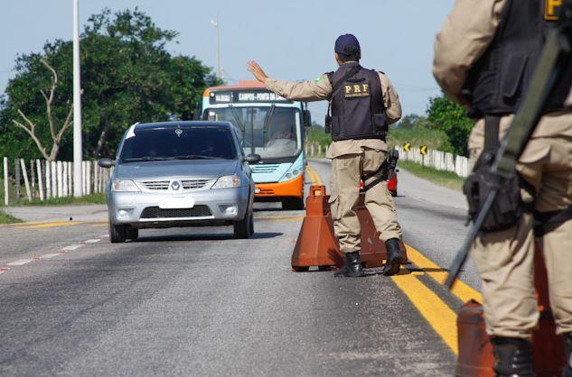 Operação 12 de Outubro da Polícia Rodoviária Federal começa nesta quarta-feira