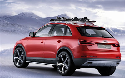 Audi Q3 Red Wallpaper