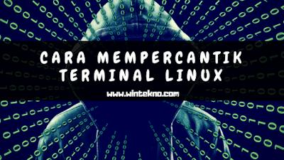 Cara Mempercantik Tampilan Terminal Linux Agar Terlihat Lebih Menarik