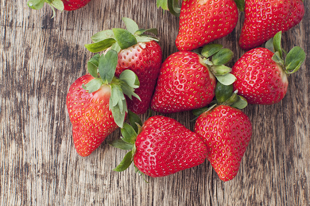 Ten Health Benefits of eating strawberries