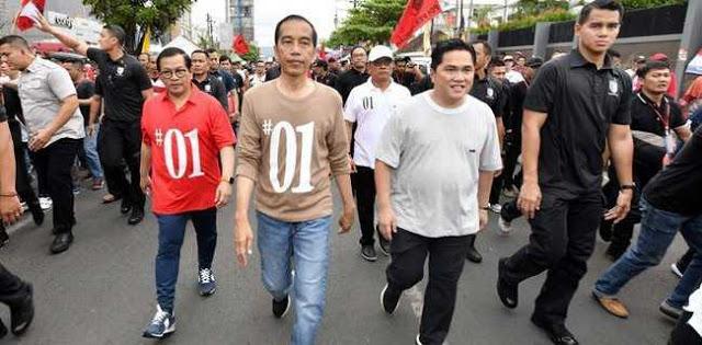 ASN Terbukti Terlibat Mobilisasi Massa Jalan Sehat Jokowi Di Bandarlampung