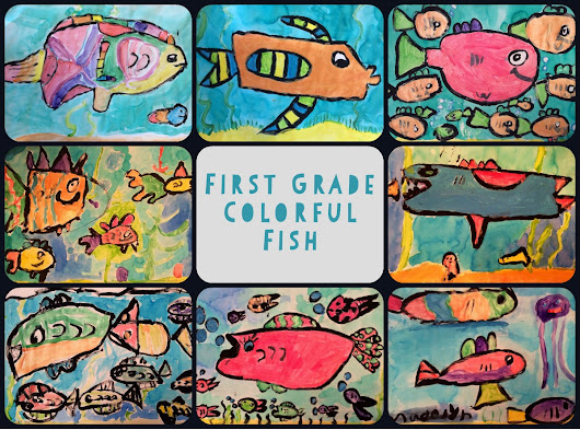 First Grade Colorful Fish