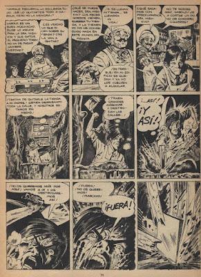 Página de 'El Desalojado'