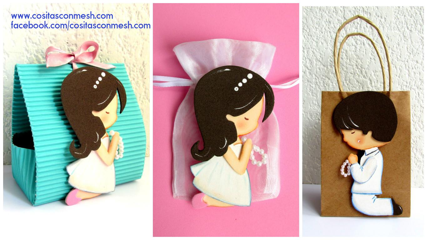 829d185a8 La figura del niño de primera comunión es de 13.5 cm, y lo puedes poner en bolsitas  de regalo o cajas más grandes, espero que esta idea te guste y lo ...