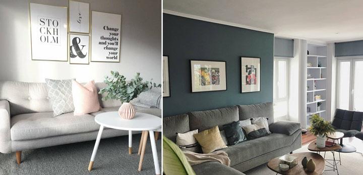 Tips Gantung Poster Hiasan Dinding Belakang Sofa