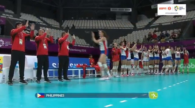 Live Streaming List: Philippines vs Kazakhstan ASIAD 2018 Volleyball (Women) Match