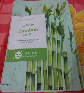 Etude House sheet mask varian Bamboo