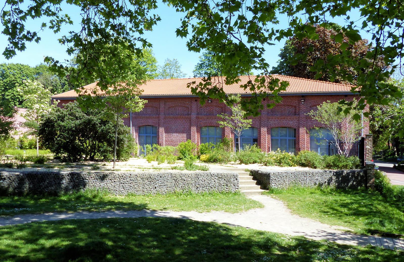 Bourloire Saint Christophe - Tourcoing, Jardin botanique