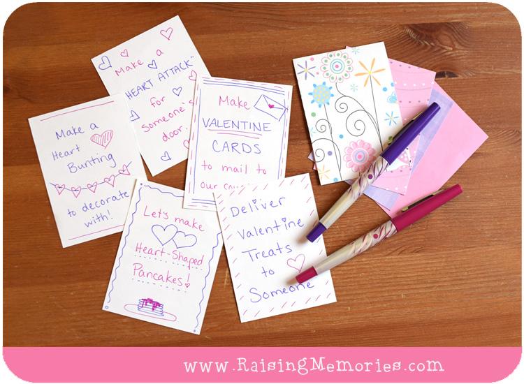 Family Valentine Advent Activities