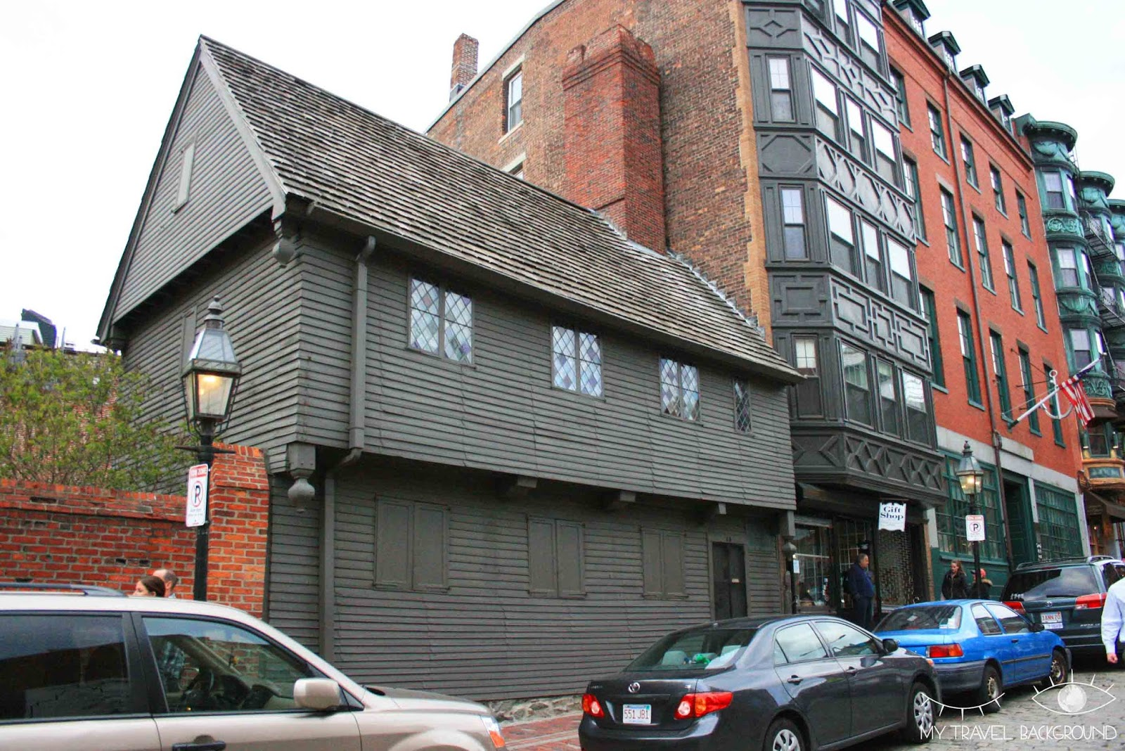 My Travel Background : la maison de Paul Revere